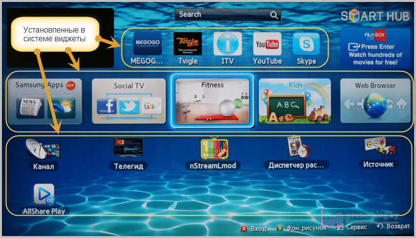 Тема: Настройка Самсунг Смарт ТВ