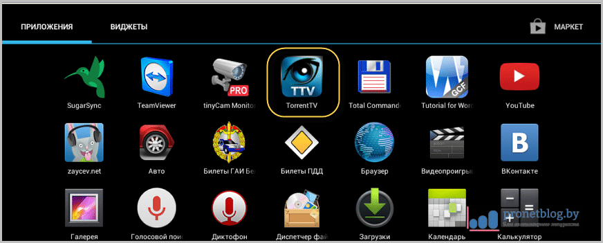 Torrent tv android скачать