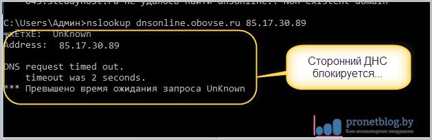Тема: как проверить DNS-сервер на блокировку