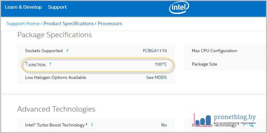 Тема: температура процессора ноутбука